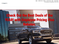 Lone Star Chrysler Dodge Jeep RAM website screenshot