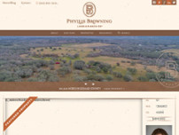 Phyllis Browning Company - Land & Ranch Co.™ website screenshot