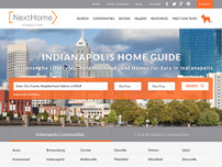 Home To Indy Team - NextHome Connection website screenshot
