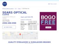 040cbe88704 Screenshot for https   locations.searsoptical.com us ca