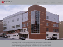 Purcell Architects website screenshot