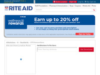 Rite Aid website screenshot