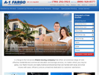 American Fargo Moving and Storage website screenshot