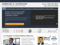 The Rodriguez Law Group website screenshot