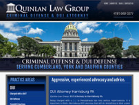 Quinlan Law Group, LLC website screenshot