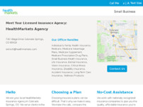 HealthMarkets Insurance Agency - Closed website screenshot