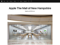Apple The Mall of New Hampshire website screenshot