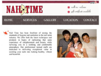 Nail Time Julington Creek website screenshot