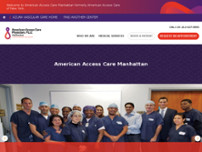 American Access Care Manhattan website screenshot