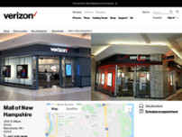 Verizon website screenshot
