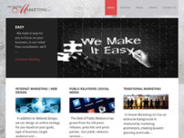 In House Marketing LLC website screenshot