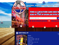Bubba Gump Shrimp Co. website screenshot