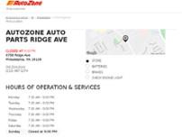 Autozone auto parts philadelphia