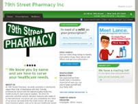 79th Street Pharmacy website screenshot