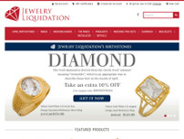 Jewelry Liquidation website screenshot