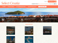 Select Croatia website screenshot