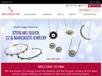 P&K Jewelry, Inc. website screenshot
