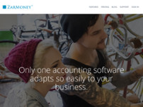 ZarMoney - Free Business Accounting Software website screenshot