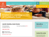 Screenshot For Kindercare Our Centers