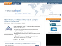 Traverse Legal, PLC. website screenshot
