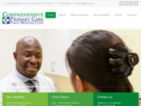 Comprehensive Primary Care website screenshot