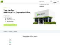 H R Block In Hartford 651 Maple Ave Taxes In Hartford Opendi