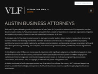 Vethan Law Firm P.C. website screenshot