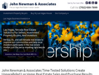 John Newman Real Estate Investor Leader website screenshot