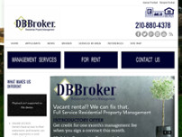 DB Broker LLC website screenshot