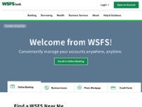 WSFS Bank website screenshot