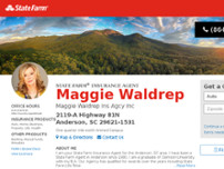 Maggie Waldrep State Farm Insurance Agent In Anderson 2119 A Highway 81n Insurance In Anderson Opendi Anderson