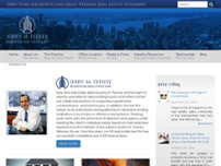 Jerry M. Feeney Attorney at Law website screenshot