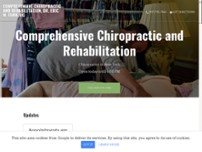 Comprehensive Chiropractic and Rehabilitation, Dr. Eric M. Turk, DC website screenshot