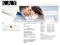 Kay Jewelers website screenshot