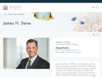 Baron Capital - Jamie Stone website screenshot