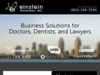 Einstein Industries, Inc. website screenshot