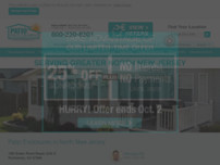 Screenshot For Https://www.patioenclosures.com/sunrooms North