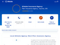 Allstate Insurance Agent: Pfarr Insurance Agency website screenshot