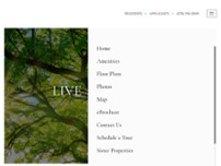 The Life at Pine Village website screenshot