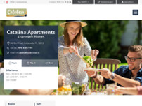 Catalina Apartments website screenshot