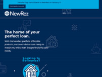 NewRez LLC website screenshot