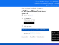 AT&T Store website screenshot
