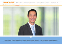 NAKASE LAW FIRM - Personal Injury Lawyers website screenshot