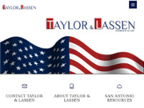Taylor & Lassen website screenshot