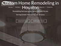 TriFection Remodeling & Construction website screenshot