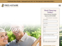 Fred Astaire Dance Studio of Indianapolis website screenshot