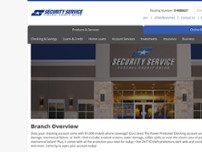 Eric Sandoval, NMLS # 1627457 - Security Service Federal Credit Union website screenshot