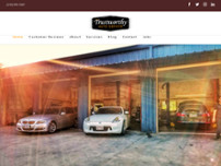 Trustworthy Auto Service website screenshot