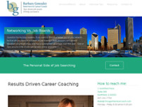 Barbara Gonzalez Interview & Career Coach website screenshot