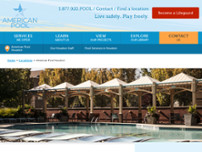 American Pool Houston website screenshot